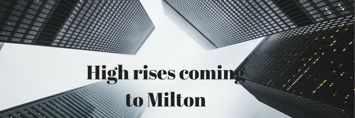 Milton's Medium and High Density Projects as of January 31st 2018